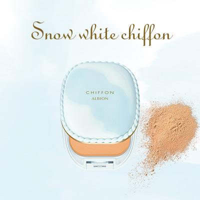 スノー ホワイト シフォン