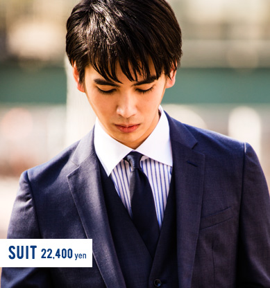 suit 22,400 yen
