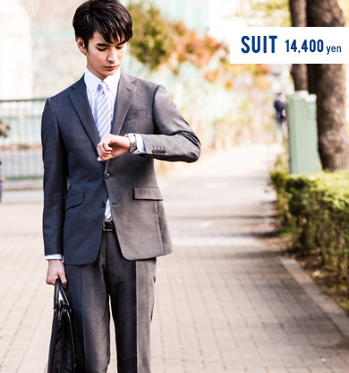 suit 14,400 yen
