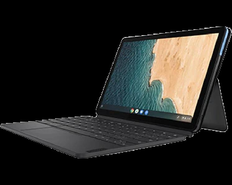 Lenovo ZA6F0038JP IdeaPad Duet Chromebook 10.1  4GB eMMC128GB アイスブルー+アイアングレー