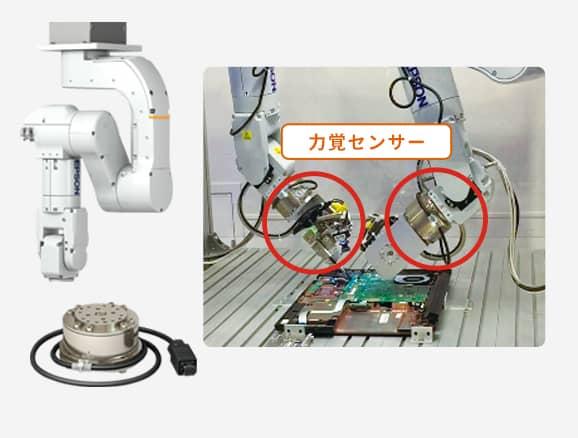 力覚センサーの図