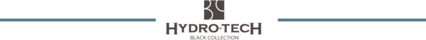 ハイドロテック ブラックコレクションシリーズ