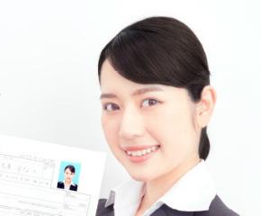 【クーポン付】プリント&データ両方ついて1000円!美肌に決まる証明写真