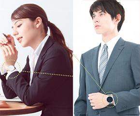時間を味方に―。就活中もファッションを楽しめる、腕時計の魅力