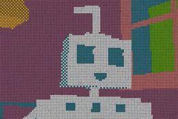 【動画】この動画、ルービックキューブ1,296個で作りました!