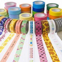 DIYに使える! 簡単おしゃれな必須アイテム「マスキングテープ」人気の柄は?