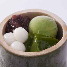 【京都グルメ】つるん、とした喉越しがたまらない和スイーツ。中村藤吉本店の「生茶ゼリイ[抹茶]」