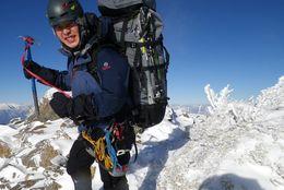 3000メートル級の雪山にもアツいハートで挑む登山家! 山梨大学4年・岩崎庄太朗さんに話を聞いてみた