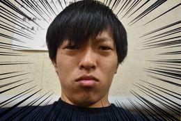 大学を卒業したので、北大内にある床屋「HAIR専科クラーク」で「新入社員っぽく」と注文してみた