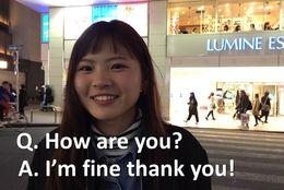 まるで合言葉? 約7割の大学生が「How are you?」に「I'm fine」と回答! 外国人「もっとクールに返そうぜ」