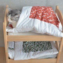 こたつに、二段ベッド……? 進化する猫用グッズ 画像10選