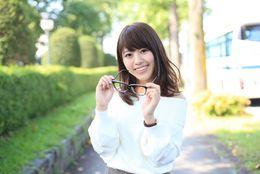 【ミスメガネ女子コンテスト!】ミスソフィアエントリーNo.3相澤里咲さん