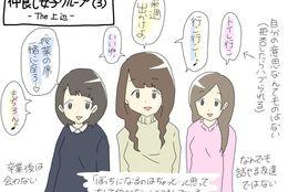 すれみの#1コマでわかる大学生vol.12「仲良し女子グループ(3)-The 上辺-」