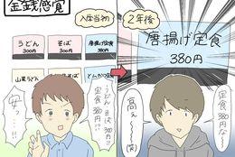 すれみの#1コマでわかる大学生vol.94「金銭感覚」