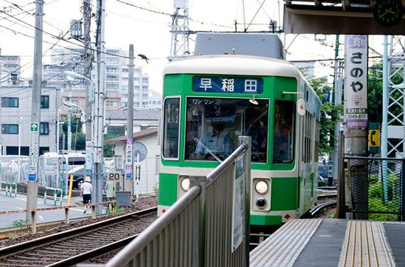 のんびりまったりデートにオススメ! 渋い東京の路面電車に乗ってみませんか?