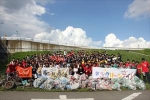「第2回 大学対校!ゴミ拾い甲子園」に10大学約200名の学生が集結!