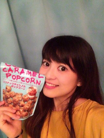 第65回目のおやつは、ココナッツキャラメルポップコーン!