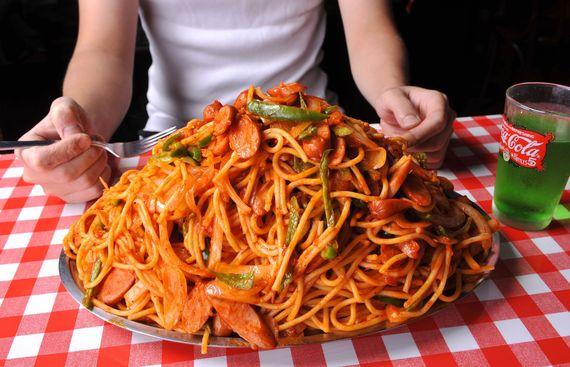 【デカ盛り】600gまで同一料金! こだわりの極太麺×手づくりソース『スパゲティーのパンチョ 渋谷店』