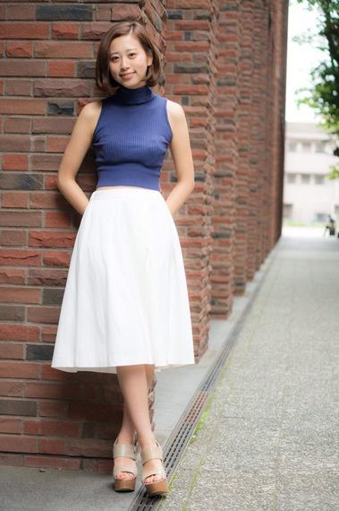 【ミス立教2105候補】社会学部3年、正木絢女さん 画像一覧