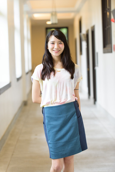 【ミス立教2015候補】経済学部4年、開坂沙耶さん 画像一覧