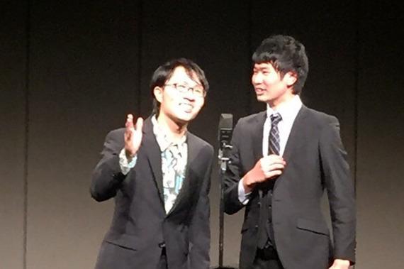 『M-1』1回戦突破! 有名人を多数輩出している同志社大学の「喜劇研究会」の名コンビを取材!