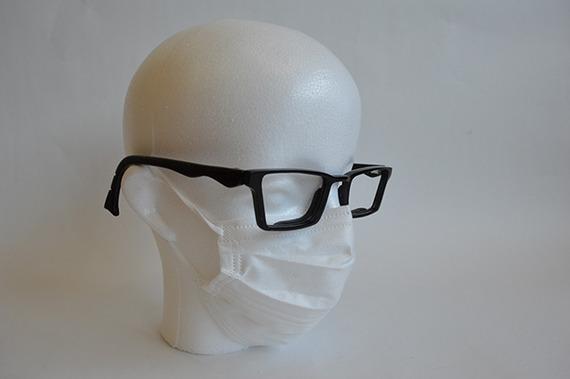 画期的発明? 「マスクをしても曇らない眼鏡」を作った京都精華大生、きっかけは実体験から?