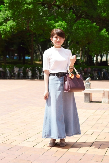 Vol.56 茉伊さん(日本女子大学)【通学コーデ5days】