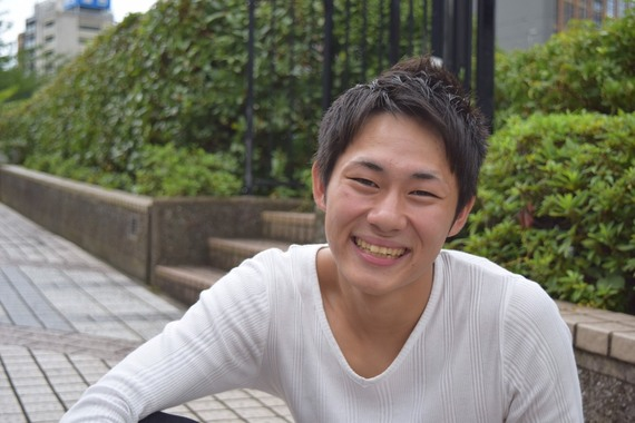 日本大学経済学部 ミスター三崎コンテスト2016エントリーNo.4金子建男さん