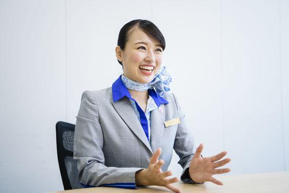【ANAの先輩社員】客室乗務職:山田亜沙美さん