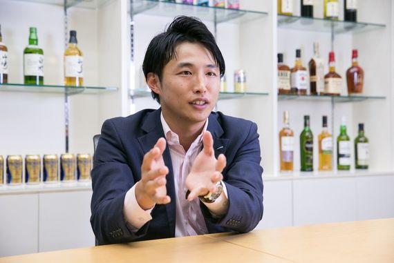 【サントリーの先輩社員】サントリー酒類株式会社 営業:大平陸さん
