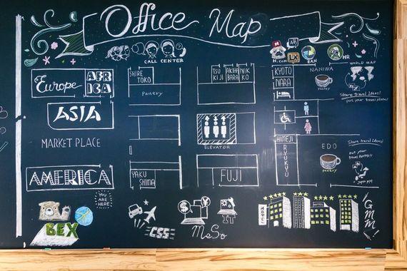 働きやすすぎるエクスペディアのオフィスに潜入してきた【女子大生の妄想オフィス体験】