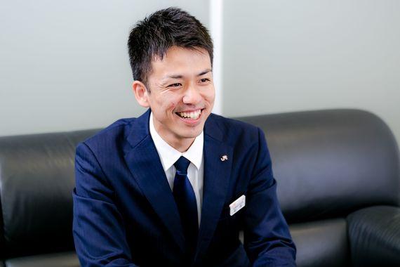 【JR東海の先輩社員】新幹線鉄道事業本部輸送課 輸送統計・調査:萩原和也さん