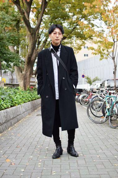 Vol.370 ワタルさん(大谷大学)【通学コーデ5days】
