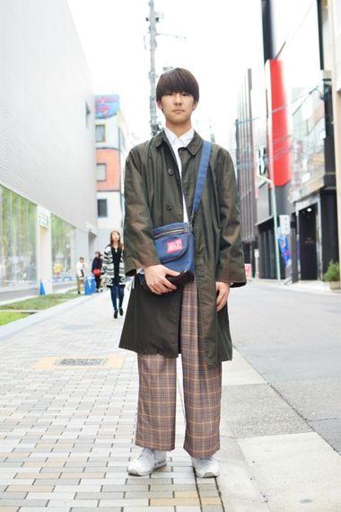 Vol.396 椋司さん(中日美容専門学校)【通学コーデ5days】