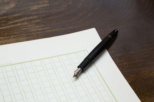 用紙 の 書き方 原稿