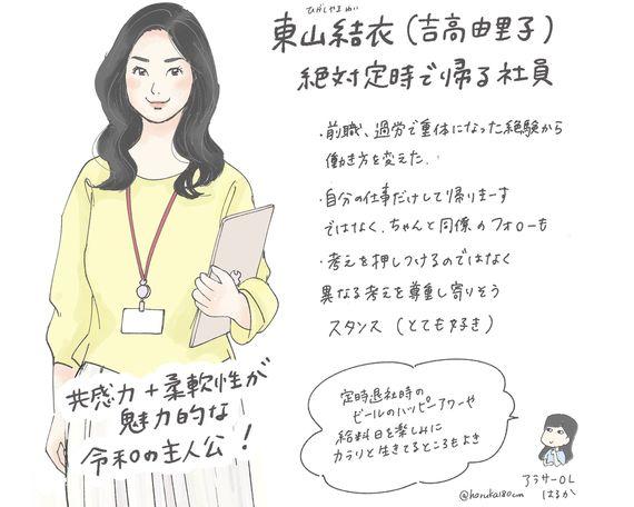 「わたし、定時で帰ります。」吉高由里子のファッション|しなやかに働く令和のお仕事ドラマ  #憧れドラマコーデ vol.3