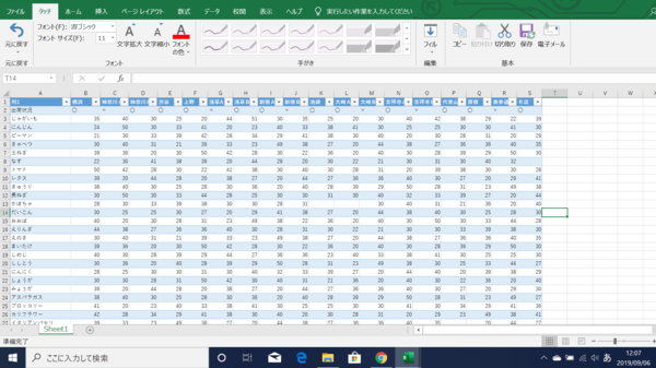 効率アップに固定を活用。Excelの書体・文字サイズ・罫線などを固定する方法