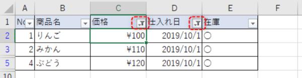 Excelのフィルター機能の便利な使い方【基礎編】