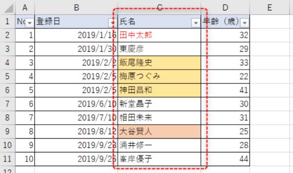 表の整理はこんなに簡単! Excelデータの並び替えはフィルター機能を使ってみよう