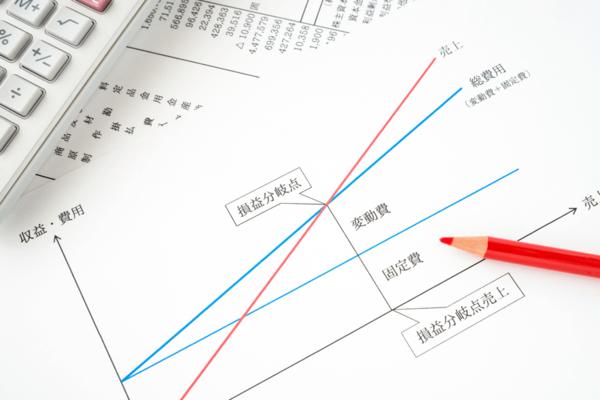 固定費の意味と損益分岐点における役割について解説