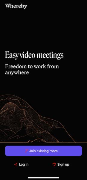 【web面接】Whereby(ウェアバイ)を使うときの準備と操作手順について解説